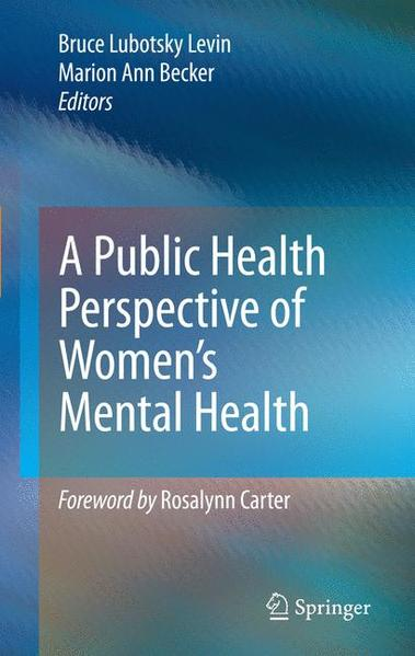 A Public Health Perspective of Women's Mental Health - Coverbild