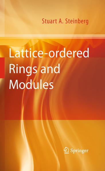 Lattice-ordered Rings and Modules - Coverbild