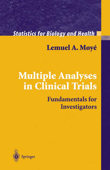 Multiple Analyses in Clinical Trials - Coverbild
