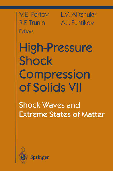 High-Pressure Shock Compression of Solids VII - Coverbild
