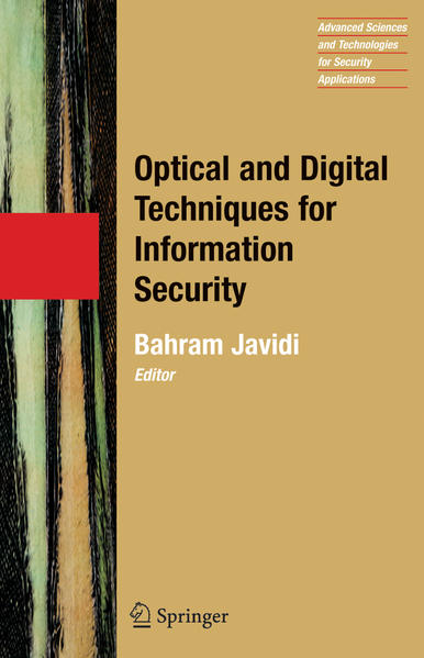 Optical and Digital Techniques for Information Security - Coverbild