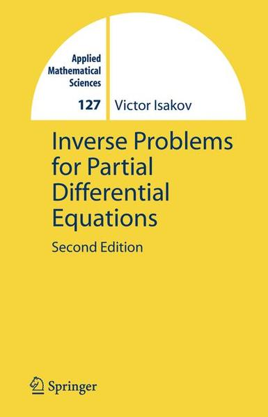 Inverse Problems for Partial Differential Equations - Coverbild