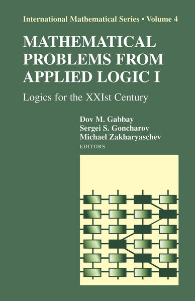 Mathematical Problems from Applied Logic I - Coverbild