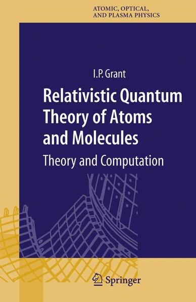 Relativistic Quantum Theory of Atoms and Molecules - Coverbild