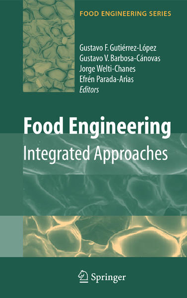 Food Engineering: Integrated Approaches - Coverbild