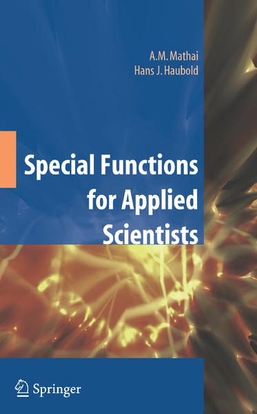 Special Functions for Applied Scientists - Coverbild