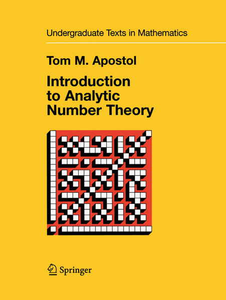 Introduction to Analytic Number Theory - Coverbild