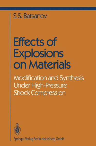 Effects of Explosions on Materials - Coverbild