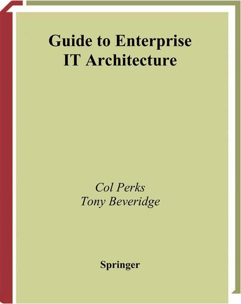 Guide to Enterprise IT Architecture - Coverbild