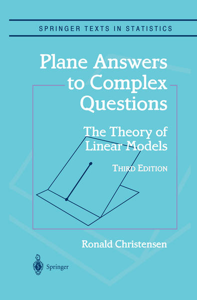 Plane Answers to Complex Questions - Coverbild