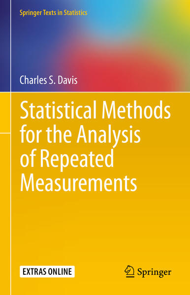 Statistical Methods for the Analysis of Repeated Measurements - Coverbild