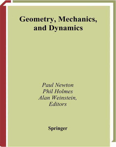 Geometry, Mechanics, and Dynamics - Coverbild