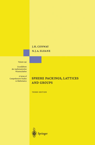 Sphere Packings, Lattices and Groups - Coverbild