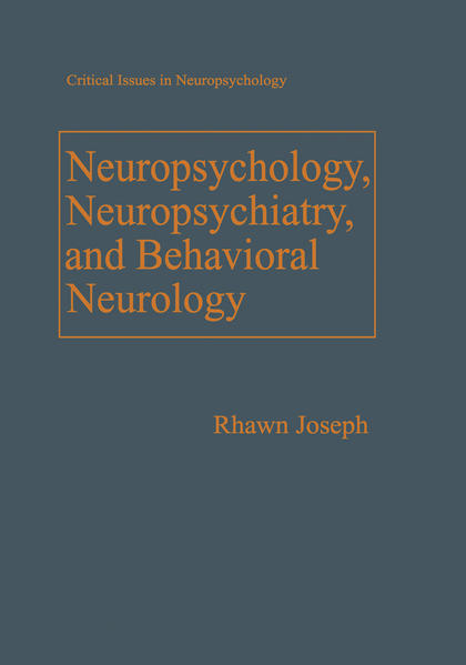 Neuropsychology, Neuropsychiatry, and Behavioral Neurology - Coverbild