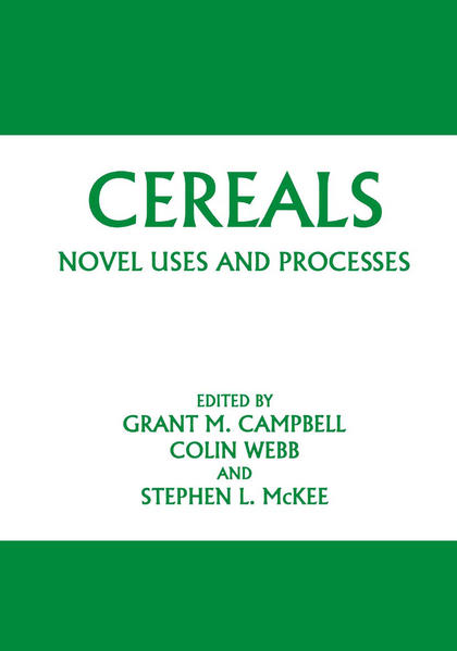 Cereals: Novel Uses and Processes - Coverbild