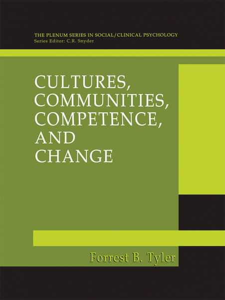 Cultures, Communities, Competence, and Change - Coverbild