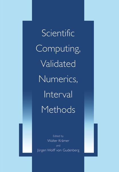 Scientific Computing, Validated Numerics, Interval Methods - Coverbild