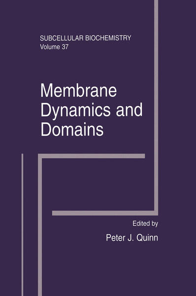 Membrane Dynamics and Domains - Coverbild