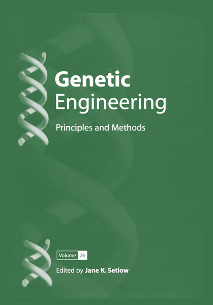 Genetic Engineering: Principles and Methods - Coverbild