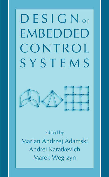 Design of Embedded Control Systems - Coverbild