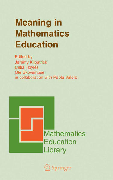 Meaning in Mathematics Education - Coverbild