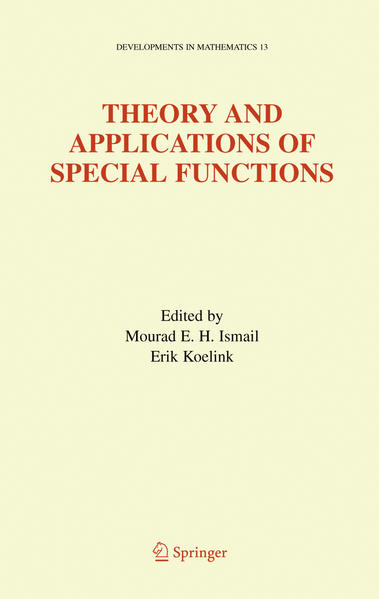 Theory and Applications of Special Functions - Coverbild