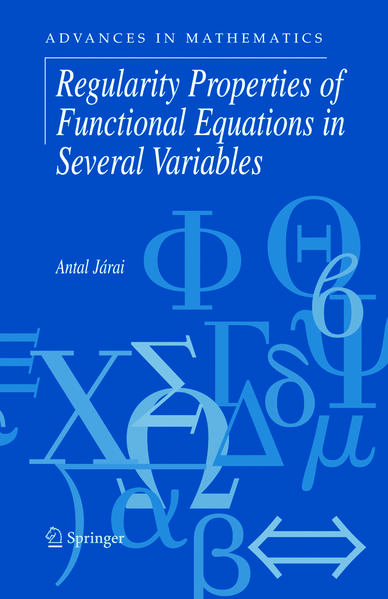 Regularity Properties of Functional Equations in Several Variables - Coverbild
