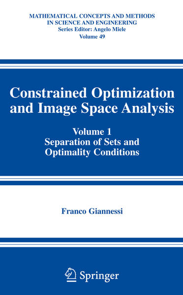 Constrained Optimization and Image Space Analysis - Coverbild