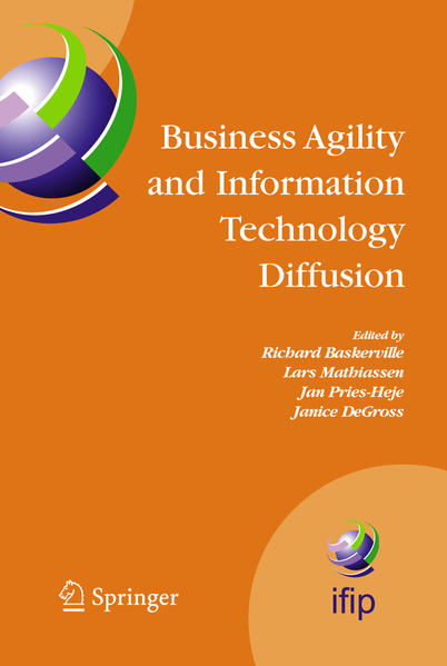 Business Agility and Information Technology Diffusion - Coverbild