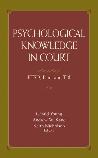 Psychological Knowledge in Court - Coverbild