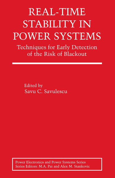 Real-Time Stability in Power Systems - Coverbild
