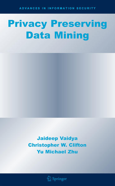 Privacy Preserving Data Mining - Coverbild