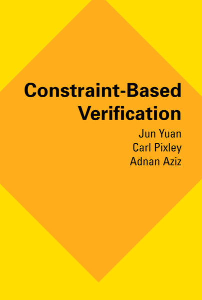 Constraint-Based Verification - Coverbild