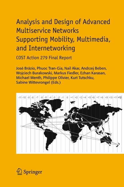 Analysis and Design of Advanced Multiservice Networks Supporting Mobility, Multimedia, and Internetworking - Coverbild