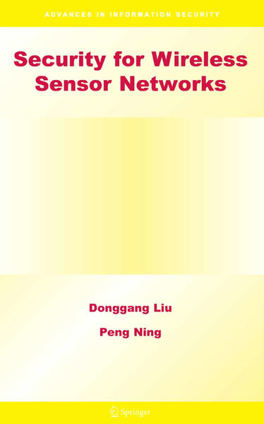 Security for Wireless Sensor Networks - Coverbild