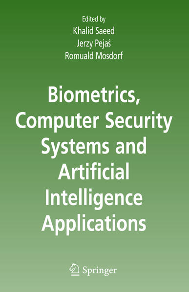 Biometrics, Computer Security Systems and Artificial Intelligence Applications - Coverbild