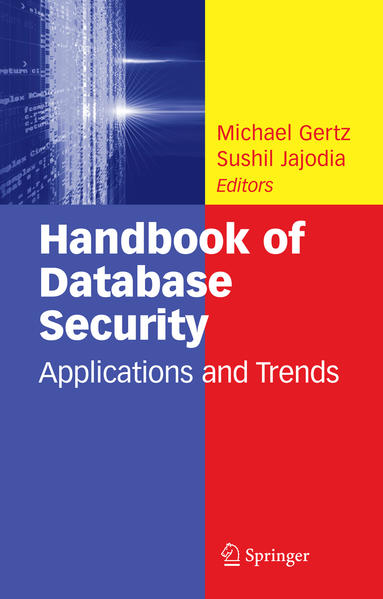 Handbook of Database Security - Coverbild