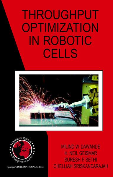Throughput Optimization in Robotic Cells - Coverbild