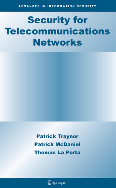 Security for Telecommunications Networks - Coverbild