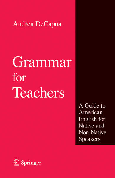 Grammar for Teachers - Coverbild