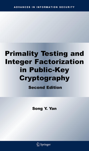 Primality Testing and Integer Factorization in Public-Key Cryptography - Coverbild