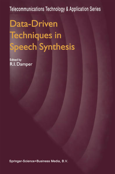 Data-Driven Techniques in Speech Synthesis - Coverbild