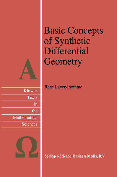 Basic Concepts of Synthetic Differential Geometry - Coverbild