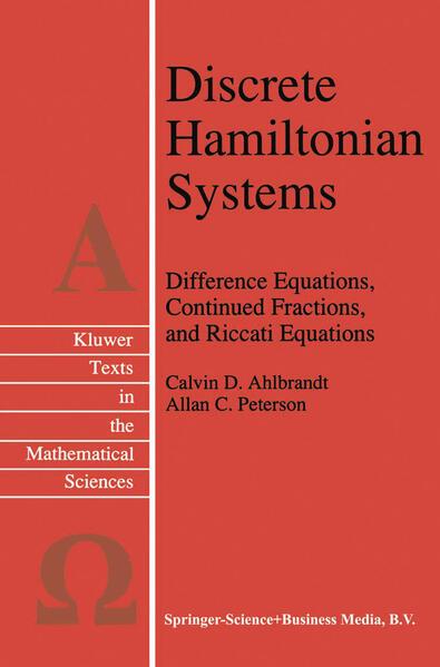Discrete Hamiltonian Systems - Coverbild