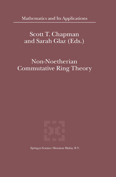 Non-Noetherian Commutative Ring Theory - Coverbild
