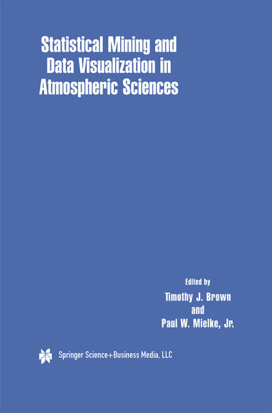 Statistical Mining and Data Visualization in Atmospheric Sciences - Coverbild