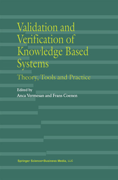 Validation and Verification of Knowledge Based Systems - Coverbild