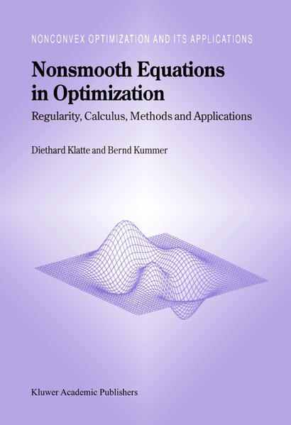 Nonsmooth Equations in Optimization - Coverbild