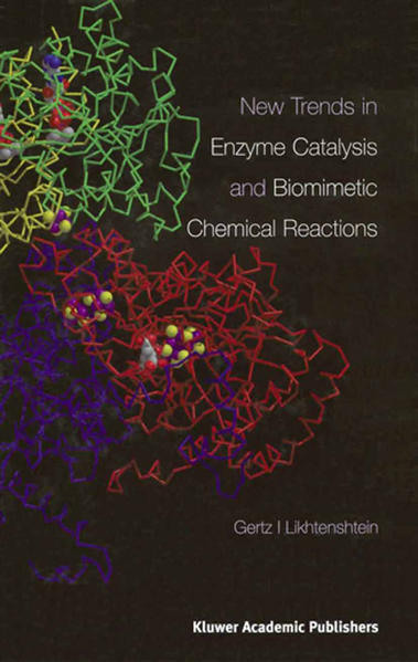 New Trends in Enzyme Catalysis and Biomimetic Chemical Reactions - Coverbild