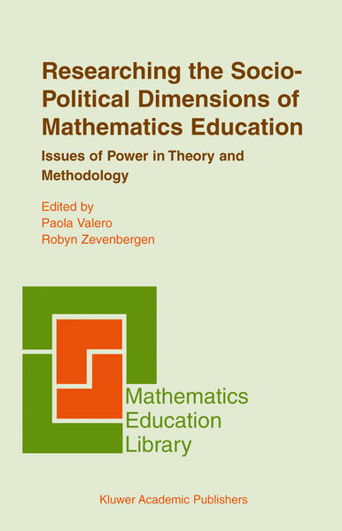 Researching the Socio-Political Dimensions of Mathematics Education - Coverbild